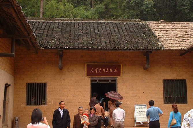 Taking a private day tour to see the impressive the hometown of Chairman Mao and Dripping Water Cave, And the private van, English speaking guide, Chinese lunch and entrance fees of sites are provided.