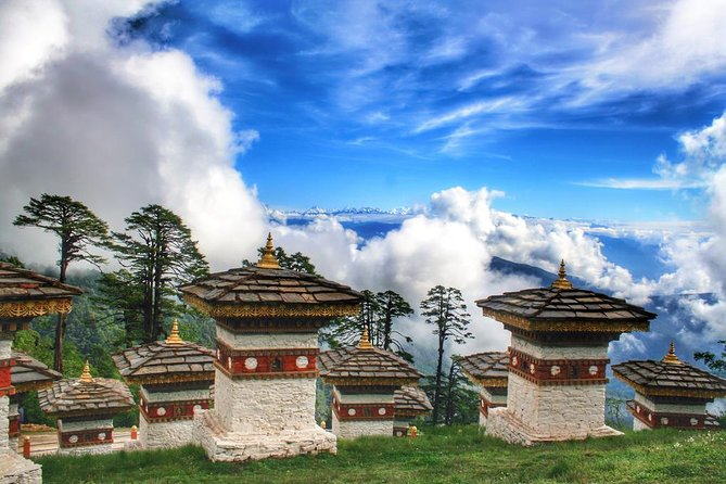This cultural tour through the mystical Western valleys of Bhutan is an ideal introduction to the Dragon Kingdom. Experience Bhutanese hospitality, admire the ever-changing landscapes, and immerse yourself in Bhutan's rich Buddhist culture. Highlights include Ta Dzong Museum, Rimpung Dzong with its wooden cantilevered bridge and the famous Taktsang Monastery (Tiger's Nest) in the beautiful Paro Valley, The National Memorial Chorten, 12th century Changangkha Temple and the National Library exhibiting ancient scriptures in Bhutan's capital Thimphu, and after crossing the 3050m Dochula Pass with spectacular Himalayan views, a journey into the sub-tropical Punakha Valley featuring the incredible the Punakha Dzong and Chimi Lhakhang, temple of the 'Divine Madman'.
