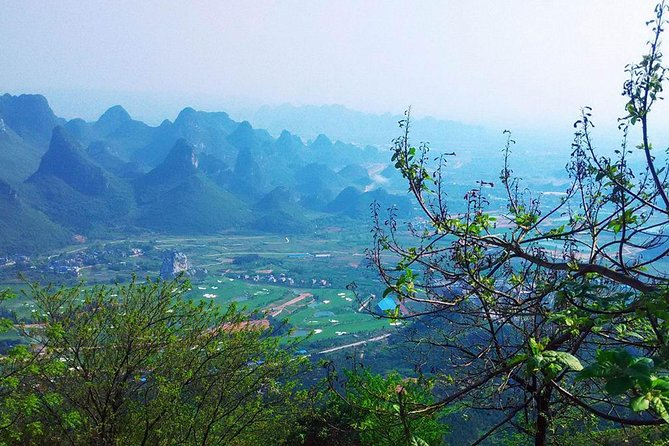 One Day Exploration to Daxu Old Town and Yaoshan Tea Plantation, Guilin, CHINA