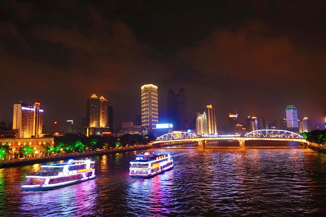 From Guangzhou: Pearl River Night Cruise with Buffet Dinner, Canton, CHINA