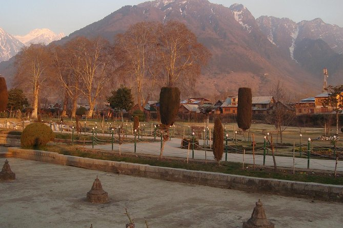 Enjoy a private full-day sightseeing tour of Srinagar city which includes visits to beautiful landmarks such as Shankaracharya Hill, Mughal Gardens Shalimar Bagh, Jamma Masjid Mosque, plus walk with your guide through local markets and the spice bazaar.and sightseeing