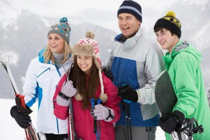 Skip the line and bring your ski gear straight to you! This premium service delivers ski rental equipment directly to your lodging and custom fits skis, boots and poles for men and women in the comfort of your living area. Make your vacation as convenient and fun as possible with this ski package.