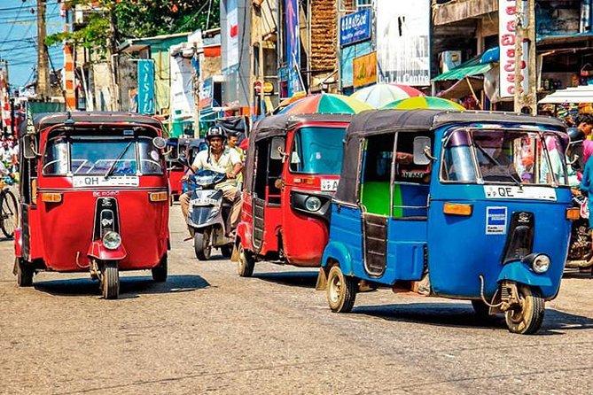 Galle Sightseein Rickshaw Tour, Galle, SRI LANKA