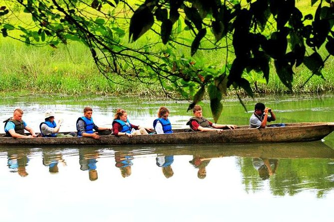 On this 3-day tour from Kathmandu, visit one of Nepal's most popular tourist destinations, Chitwan National Park. The park, located in the lowland of the Inner Terai Region, is a UNESCO World Heritage Site and is the habitat for 50 species of flora and 700 species of wild fauna. Every year it is visited by a large number of domestic and foreign tourists who want to see the natural wildlife and do jungle activities, like jeep safaris, bird watching, canoe riding, learning about Tharu culture, and more. The park has the easiest accessibility among the other national parks in Nepal.