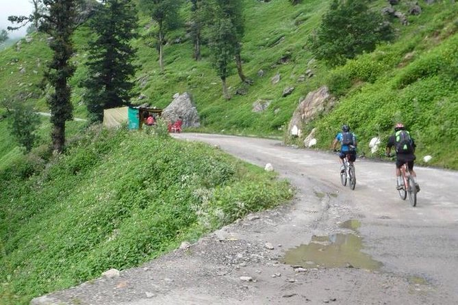 A 4-day tour exploring the highlights of the Kullu Valley by mountain bike. Visit the exquisite Naggar castle, eat typical Himachali food with the graceful Jana Waterfalls flowing next to you, camp in stunning pine forest and take in the amazing Himalaya vistas from the high viewing point of Bijli MahaDev. This tour really gets into the Himalaya nature and allows you to experience traditional mountain life up close and personal.