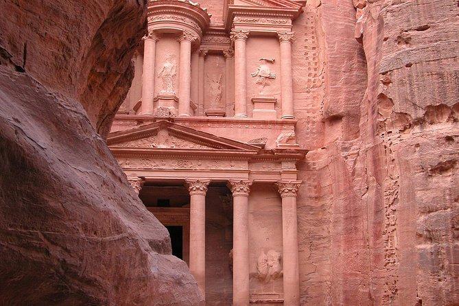 Excursión por la costa de Aqaba: recorrido turístico privado por Petra con almuerzo, Petra, JORDANIA
