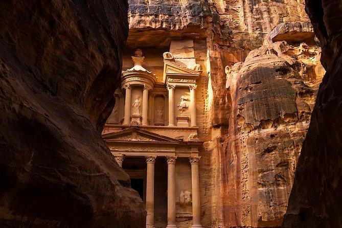Excursión privada de día completo a Petra con almuerzo desde el Mar Muerto, Petra, JORDANIA