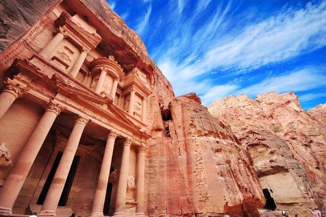 Excursión privada de día completo a Petra y Wadi Rum desde los hoteles de Aqaba, Petra, JORDANIA