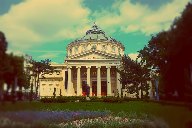 Get to know Bucharest, Romania's beautiful capital city, during an exciting 4-hour private tour! Located at the meeting point of the Orient and the Occident, the city will reveal to you its 5 century long history, marked by periods of national assertion and cultural profusion, as well as wars and communism. You will be accompanied on this virtual time travel by your personal guide, who will tell you the story of the city's main attractions: the Arch of Triumph, the Romanian Athenaeum, the Revolution Square, the old city centre, the People's House.