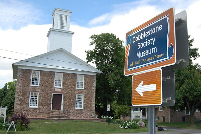 The Cobblestone Museum consists of seven major historic buildings including the oldest cobblestone church (1834) in North America, a cobblestone house (1836), which was once owned by famous publisher Horace Greeley. A third cobblestone building is the Cobblestone Schoolhouse (1849) made of small lake-washed stone. Four wooden buildings complete the campus and include a working blacksmith shop, print shop, harness shop and Farmers Hall (an exhibit of 19th century farm tools). A guided tour is offered in each of our buildings throughout the day. Children to age 12 are free with accompanying adults.