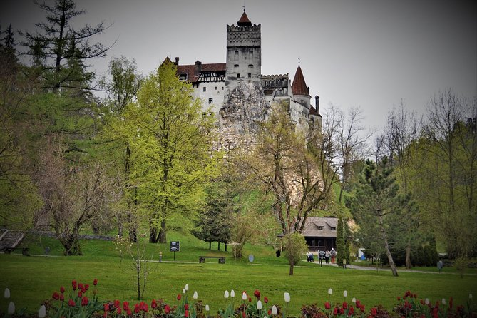 Discover some of Transylvania most famous sights and history during this full day private tour. Join your guide for a visit to legendary medieval constructions: the Bran Castle and  Rasnov Fortress. Admire the scenery as you travel in comfort to each sight by private transportation - Ford Mondeo or a minivan based on group size. Your guide will join you for the duration of the tour, ensuring to provide insight at each location.