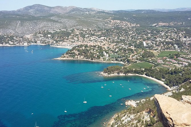 In this full-day private tour, take the opportunity to discover the highlights of Provence region. Our feature itinary will take you to Aix-en-Provence and Cassis fishing village along scenic roads in an informative friendly and fun way. Also we an tailor make different itinaries to show you off the beaten track sites such as Sanary sur Mer and Bandol fishing villages, La Cadiere d'Azur or Evenos hilltop medieval villages across the dramatic panoramas of the Sainte Baume mountain. As it is a private tour, your guide will be happy to personalize the itinerary according to your own preferences.