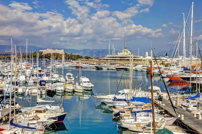 An unforgettable experience awaits, on this private 4-hour tour, visiting the exciting cities of Cannes, Antibes, and Saint Paul De Vence in the heart of the French Riviera. You'll travel by private air conditioned vehicle, exploring the history and culture of the French Riviera, with its beautiful bays, mountains, and famous landmarks.
