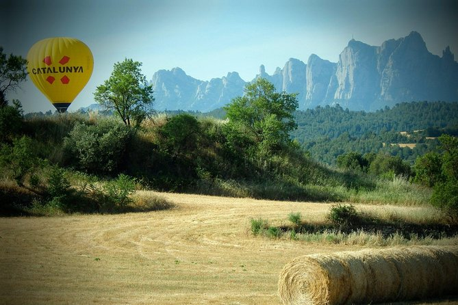 Soar above the beautiful views of Barcelona province on this 3-hour hot air balloon tour. You will discover Barcelona's province from the sky and the unique mountain of Montserrat Enjoy the pleasure to float with the winds. Available during tall year, every season has its own attractive. Surprise your partner, friends or families with this unforgettable experience.