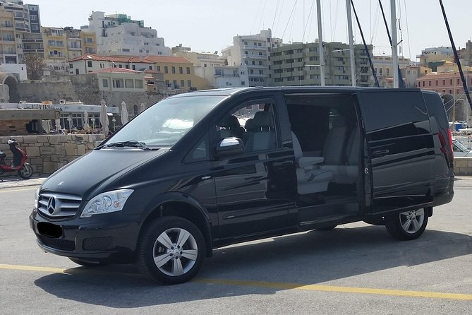 Transfer from Herakleion airport to your hotel in HERAKLION CITY OR PORT area