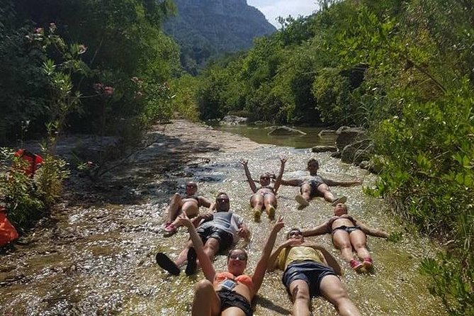 Gorge walking in Sicily's Best Canyon, Siracusa, Itália