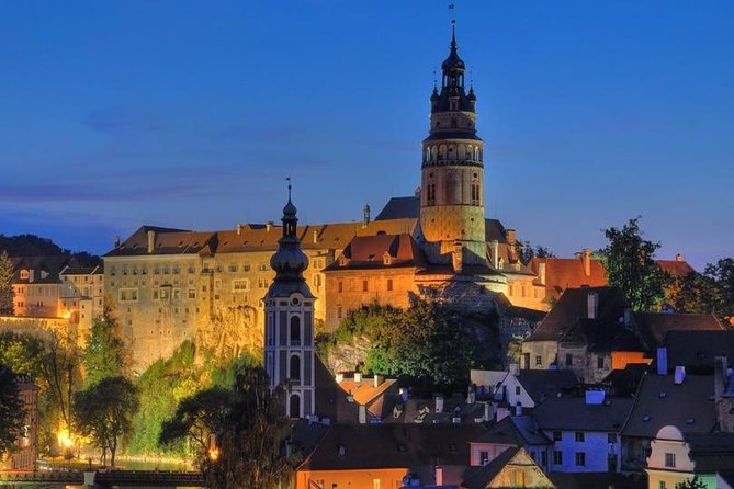 Cesky Krumlov Private Day Trip from Vilshofen to Prague, ,