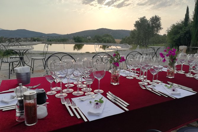 Food and Wine pairing Dinner at Karnas Vineyards Bodrum, Bodrum, Turkey