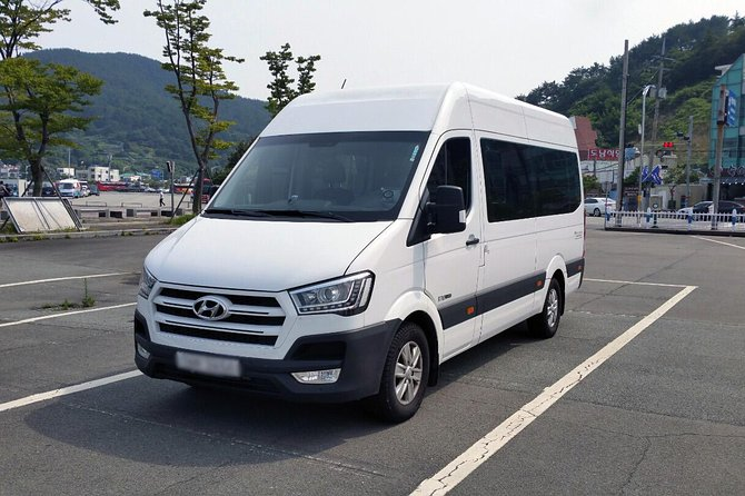 Transferring from Incheon Airport to Seoul city is now much easier with our airport transfer services. This van can fit up to 10 pieces of 24 inch luggage.<br><br>Our driver will be waiting you at the airport and send you to your destination by our private van transfer. We can assure you that our van is well maintained, comfortable and very clean. You can save a lot of time by pre-booking this private transfer and make use of your time efficiently to enjoy Korea more.