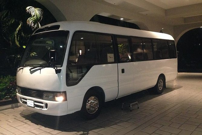 Take advantage of this new transfer service to and from your Hotel in Grand Cayman. Save time and money when you book this service. Our airport transfers are available year-round form 4:30 am - 10:30 pm and you will receive complimentary refreshment and useful tips and information about the Islands on arrival to Grand Cayman.