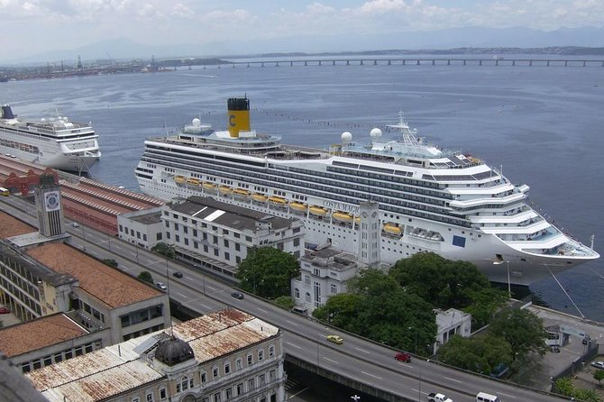 Private transfer: from Rio de Janeiro airport to the port with optional excursion, Rio de Janeiro, BRAZIL