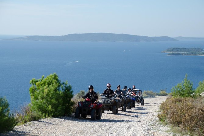 Make a lifetime memories with Quad adventures on Island Čiovo - small Adriatic pearl.Our qualified safety instructor will introduce you to the safe and fun way of exploring our magnificent wilderness upon your very own Quad. Riding through the unique Dalmatian bush land and mountain trails is an exciting way to experience the beautiful scenery that the Dalmatian coast has to offer. Choose between 2h tour and 3h tour with swimming if you want refreshment on small, private beach on the south part of the island.