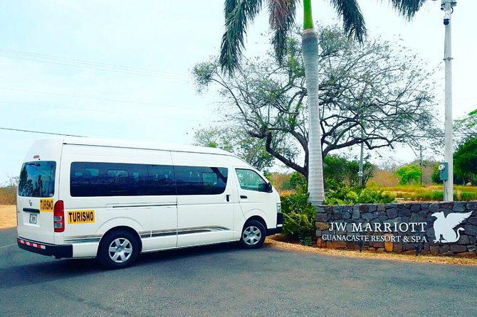 Private transportation to JW Marriott Guanacaste from Liberia Airport, makes for a comfortable and relaxing way to get from the airport to your resort. We will be waiting at the airport for upon arrival and take you directly to JW Marriott Guanacaste in a air conditioned mini-van with no other people, reducing stress and meaning you begin your vacation in style.
