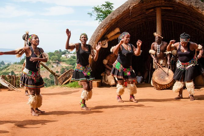 This 4-hour guided tour is a chance to see and learn about the Zulu culture and it's ancient beliefs and rituals. It also gives you a chance to see crocodiles and snakes at the Reptile Park.