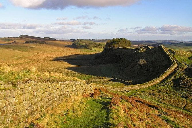 Join this small group tour (13 passengers or less) and travel to the amazing and mysterious 15th century Rosslyn Chapel, across the historic Scotland/England border and south to Hadrian's Wall, a World Heritage Site celebrating the power – and northern limit – of the Roman Empire. Other highlights on this tour include the mighty Abbeys of Melrose and Jedburgh as you journey at a relaxed pace through the beautiful Borderlands.
