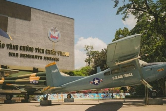 War Remnants Museum, City Tour and War Tunnels, Ho Chi Minh, Vietnam