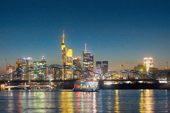 Frankfurt Nighttime Cruise on the River Main, Frankfurt, Alemanha