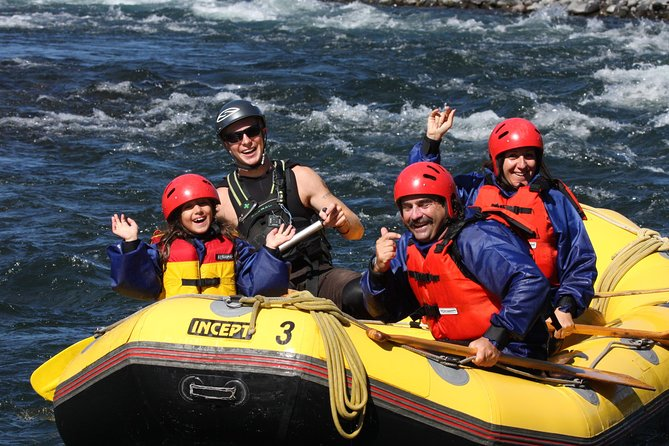 Enjoy your first taste of river rafting on thisleisurely 2-hour tour fromTurangi. The ideal choice forfamilies and first-time rafters, you'll paddle downstream, admire stunning views along the Tongariro River, and navigate some gentlerapids.