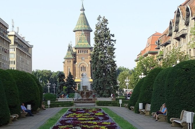 We begin with the visit of Victory Square, known also by the name of Opera Square and continue with the Orthodox Cathedral, the Bastion, the Liberty Square, the Old City Hall, The Synagogue, the Union Square, the Catholic Cathedral, the Serbian-orthodox Church, the President`s Palace, statue of the Holy Trinity and more.<br><br>Timisoara has a mixture of cultures, religions and civilization, take your time to discover the first European city that used the horse-drawn trams (1869) and electrical street lighting (1889) and the first Romanian city that reacted at the Revolution in 1989 against the Communist regime.
