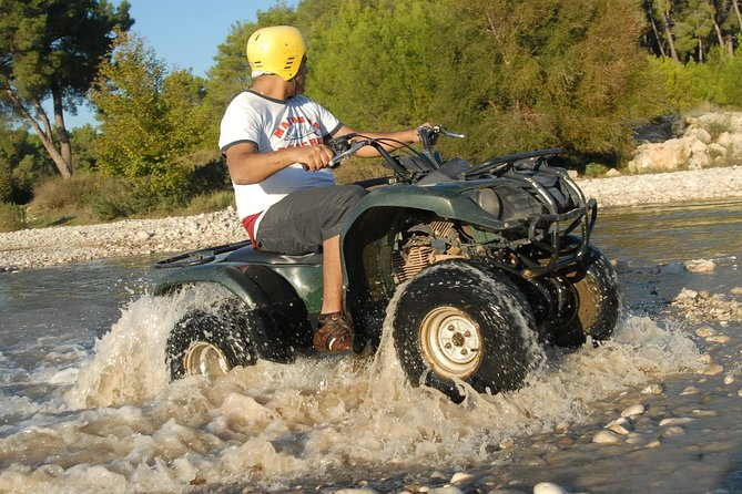 If you are looking for an adrenaline pumping activity join our quad safari tour in Kemer. Riding a quad bike through the pine forests and muddy streams in Taurus Mountains can be the most memorable experience on your holiday.