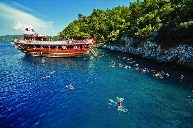 All Inclusive Daily Boat Trip Bodrum Peninsula, Bodrum, Turkey