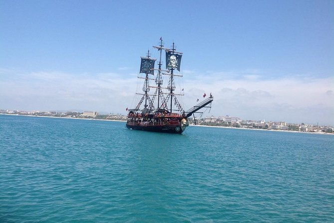 Pirate boat trip is the best way to discover the beautiful coastline of Mediterranean. It is a a graet trip for all family with lunch and animation on the boat. You will see the most beautiful bays, beaches and the picturesque islands, stop for swim in clear turquoise water.