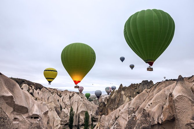 1-hour Hot Air Balloon Flight Over the Fairy Chimneys in Cappadocia, Goreme, Turkey