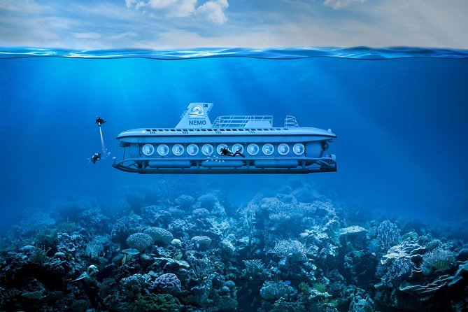 Experience with tourist submarine NEMO an unforgettable and very original event, where you will discover the underwater secrets of the Mediterranean.