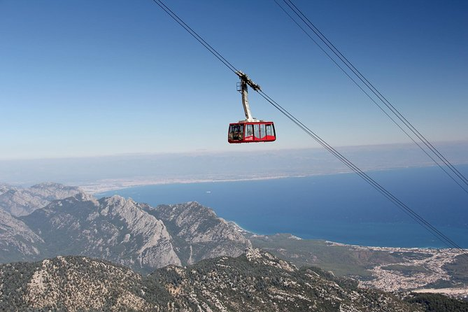 Being on holiday in Antalya don't miss on the wonderful experience of the cable car ride 'from sea to sky'. Enjoy amazing views from the top of Tahtali mountain which stands 2365 mt above sea level. You will see the beautiful coastline of Antalya region, gorgeous mountains, pine forests and turquoise Mediterranean sea. Great pictures taken during the trip will remind you of this unforgettable experience.