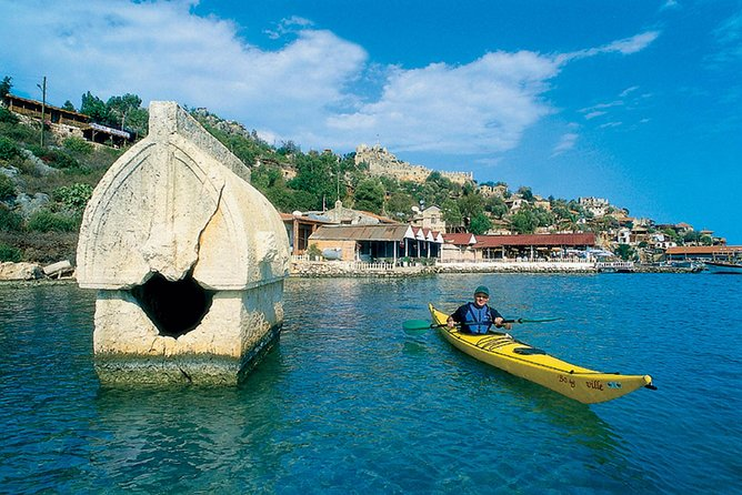 Begin this action-packed yet leisurely tour along Turkey's Turquoise Coast by taking a ride on a cool glass-bottomed boat where the underwater ruins of Kekova, an ancient Lycian city, can be seen. After the boat docks, head to Myra, the ancient city that is famous for its rock-cut tombs. Then stop by St. Nicholas Church in Demre, where you can marvel at the tombs of St. Nicholas, the model for Santa Claus.