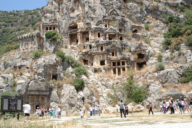 Sunken City Kekova, Demre, and Myra Day Tour from Antalya, Antalya, Turkey