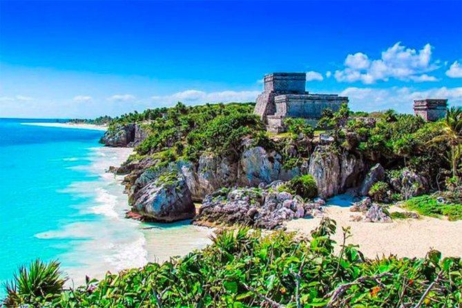 Visit two archeological sites in one day. <br><br>Tulum, the only archeological site on the shores of the Caribbean Sea. <br><br>Chichen Itza is one of the new seven wonders of the world.<br><br>Cenote Ikkil - fresh waters inside a cave covered with lush vegetation. <br><br>This is a challenging tour, but is the best option for active travellers that want to find out the Mayan Culture in ONE DAY tour, so please consider these points:<br><br>The tour takes the whole day, so your pick up from your hotel or meeting point will be early, around 7 AM.<br><br>The 2 Mayan sites are separated by long distances of each other, around one and a half hour each so be prepared to travel all day.<br><br>Time in the archaeological sites needs to be restricted so you can finish the itinerary.<br>