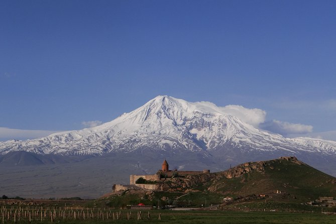 The tour starts in Yerevan, Armenia, and takes 13-14 hours. Visit the longest cable car in the world and Tatev monastery complex, including 3 monasteries and a winery with tasting.