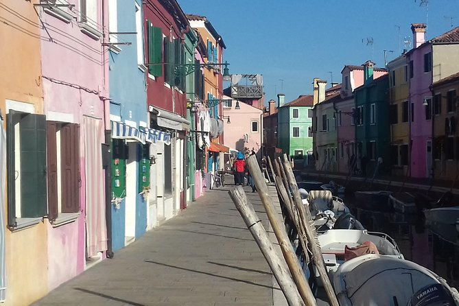 Meet you local guide in Venice city center, then board a private boat and admire the lagoon of Venice. Stop in Murano island to see S. Maria and DonatoCathedral followed by an old glass factory visit. Afterwards stop in Burano island and explore the lace island