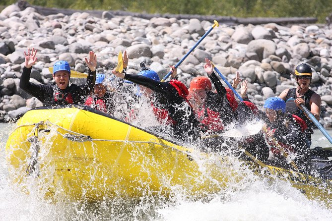 Enjoy an exhilarating white-water rafting trip along the Elaho River in Squamish, in the midst of British Columbia's gorgeous Coast Mountain range. Whether you're a thrill seeker or just want a day in nature, this exciting rafting trip is for you. Tackle thrilling Class III and IV rapids with the help of your guide.<br><br>This tour includes transport to and from Vancouver at the below times and locations:<br><br>9:00AM Trip (Mondays to Saturdays)<br><br>Sandman Suites 7:25AM<br><br>HI Vancouver Central 7:35AM<br><br>Pan Pacific 7:40AM<br><br>Fairmont Pacific Rim 7:40AM<br><br>11:00AM Trip (Sundays)<br><br>Sandman Suites 9:25AM<br><br>HI Vancouver Central 9:35AM<br><br>Pan Pacific 9:40AM<br><br>Fairmont Pacific Rim 9:40AM