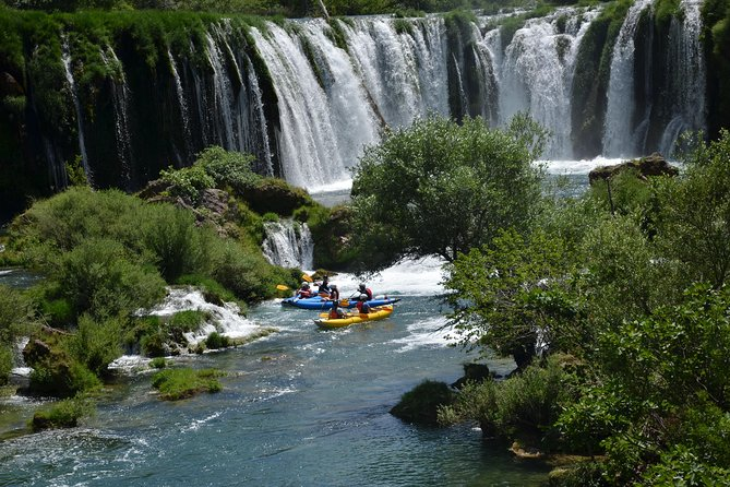 Enjoy unspoiled nature, fresh air, pure spring water and magnificent waterfalls during this Zrmanja Canoe Safari. The experience is not to demanding (class II/III) and it is safe enough for beginner canoeists too.