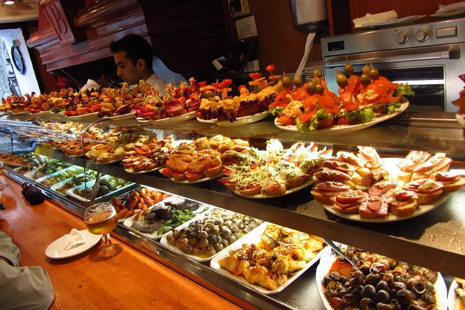 Enjoy this 4-hour gastronomical tour of Barcelona and discover some off-the-beaten-track spots. The guided walking tour consists of four stops, each one at place that is a favorite among locals. Savor Catalan-style tapas, traditional Spanish meat dishes, and pintxos, small bites favored by those in northern Spain.