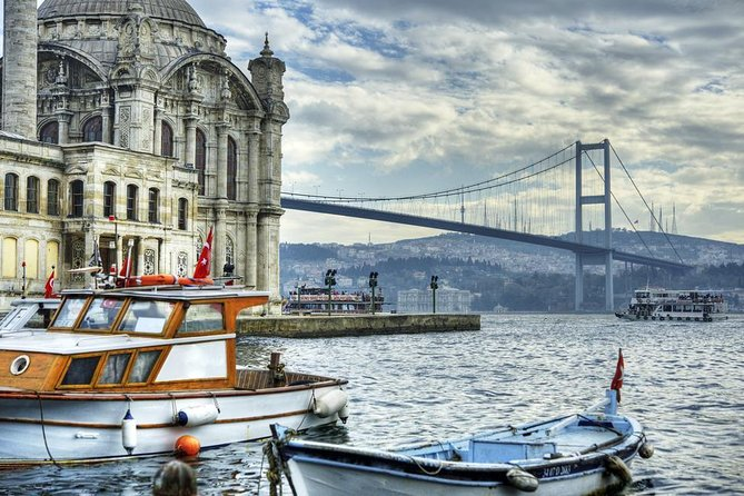 Enjoy a full day guided group tour of the Bosphorus District , the most charming part of the city of Istanbul. Get freshened up during an 1.5 hour Cruise on Bosphorus with a guided explanation of the bridges & monuments. Discover the Beylerbeyi Palace, which dates back to the 19th century of the Ottoman Empire on an extensive guided tour.