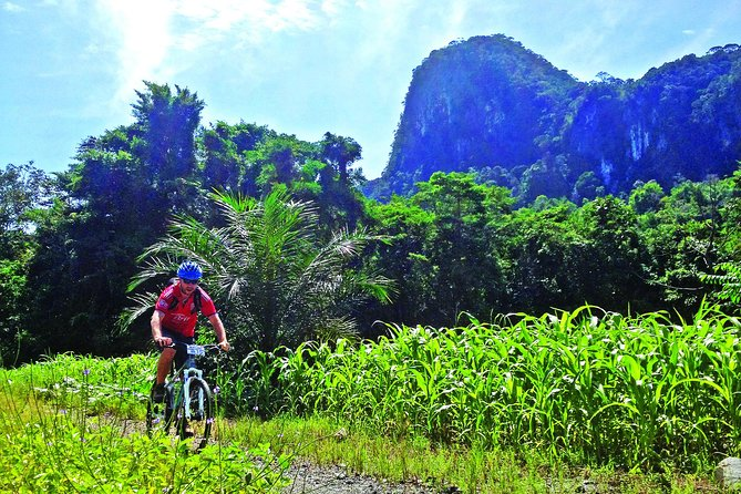 Join the full-day ultimate adventure combining the adventurous jungle mountain biking, exciting river kayaking and exploring a spectacular mountain caves.