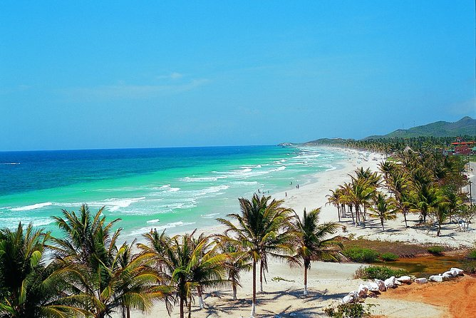 Discover the highlights of Margarita Island on this exciting day tour. You'll be introduced to the island's unique history, religion and craftwork, and discover the natural beauty and towns thathave made this one of the Caribbean's most prized destinations. End the day with a relaxing stay at Playa El Agua.